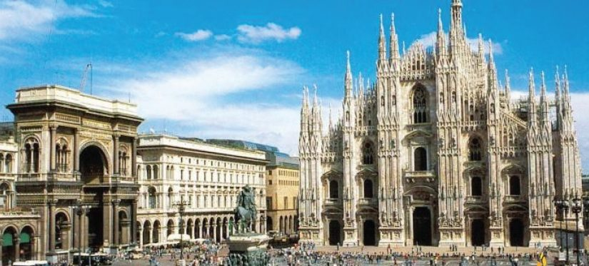 Er Pluridecorato e la nana in trasferta a Milano